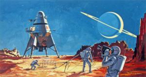 Space fiction for just five minutes, иллюстрация для рассказа