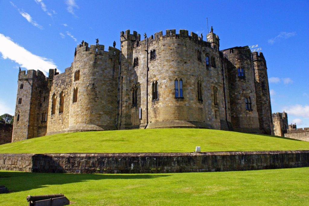 английский замок