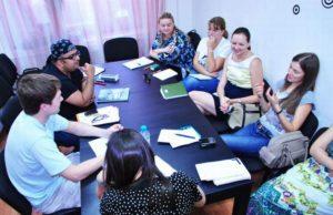фотография с встречи разговорного клуба английского языка