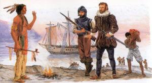 первая встреча конкистадоров и аборигенов