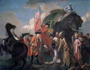 британские солдаты и индусы
