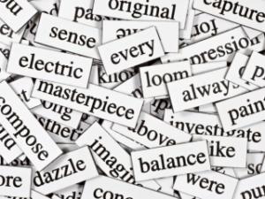 множество английских слов