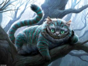 Чеширский кот - Алиса в Стране Чудес