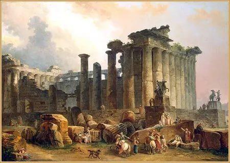 Новая, религиозная волна римского влияния латинского языка и культуры на Британию - несмотря на распад империи