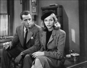 Кадр из черно-белого американского фильма 50-х годов