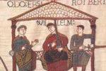 Изображение на гобелене времен норманнского завоевания Англии