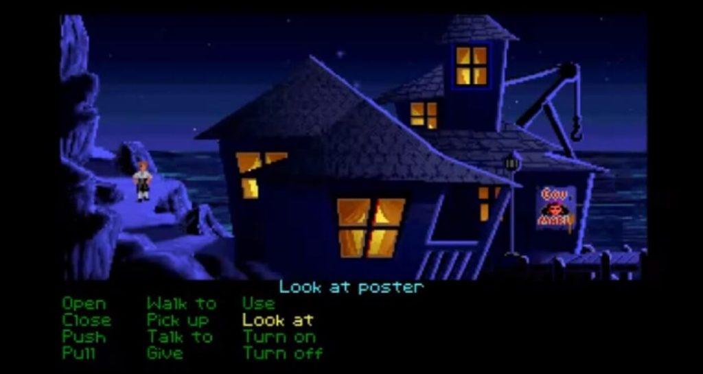 скриншот игры The secret of monkey island