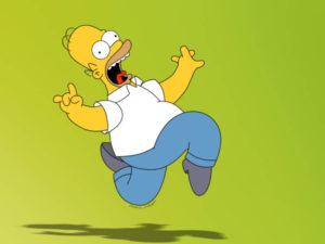 Кадр из мультипликационного сериала Симпсоны
