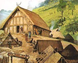 англосаксы - дом
