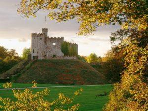 древний замок в англии