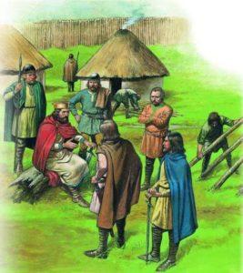 жизнь англосаксонской деревни